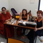 Hinda, Frédérique et Karine